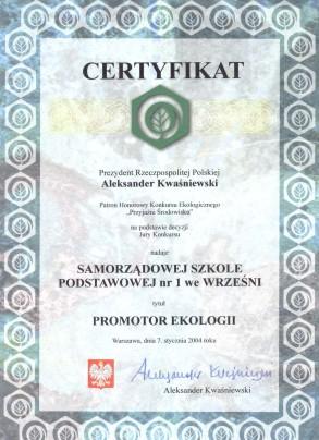 Samorządowa Szkoła Podstawowa Nr 1 We Wrześni